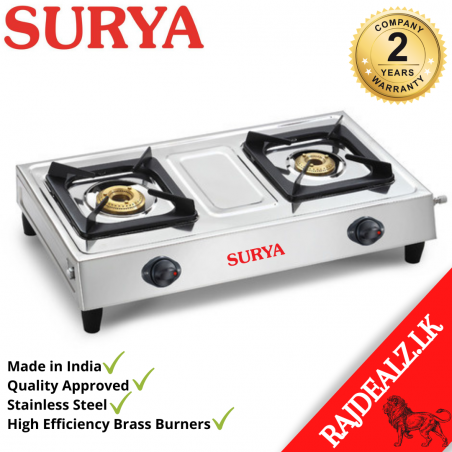 Surya Stainless Steel Gas Cooker